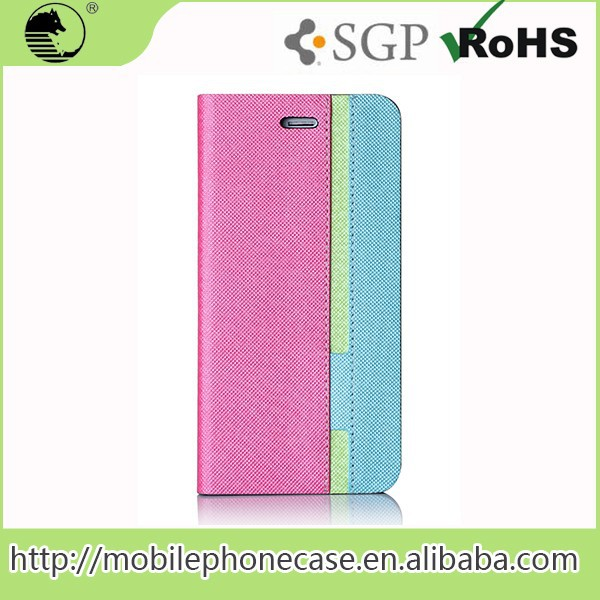 2015 Alibaba New Design Products Ultra Thin PU Leather Case For Phone 6s plus 5.5