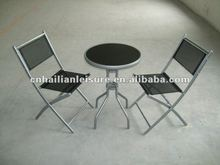 2012 most popular 3pcs set gaden chairs and table