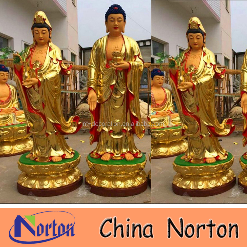 outdoor fiberglass large buddha statues for sale NTRS421S