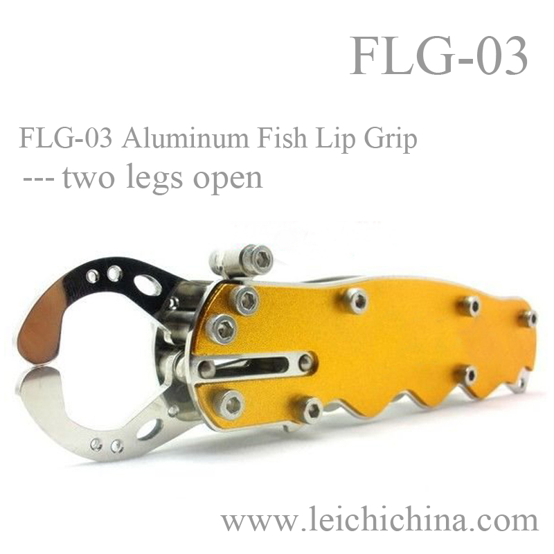 stainless steel fish grip and weigh