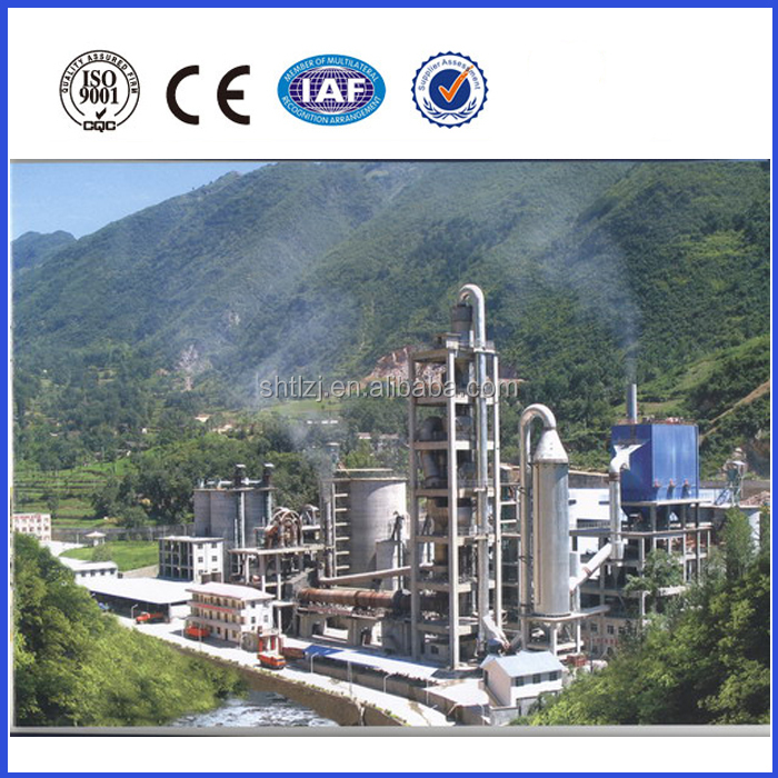 Professional cement production line design and construction with low price