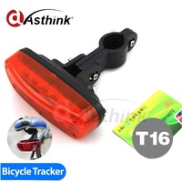 Waterproof Taillight bike Tracking and hidden wireless Bicycle GPS Tracker with gsm security gps chip pet with Quality Assurance