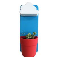 led flower pot/led flower vase/led flower planter wrought iron flower pot stands
