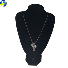 FJ brand yiwu wholesale custom high quality Fashion jewelry Feather pendant necklace