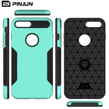 2018 Trending Products For Luxury iPhone Case, Hybrid TPU PC Mobile Covers For Apple iPhone7 iPhone 8 Plus Case