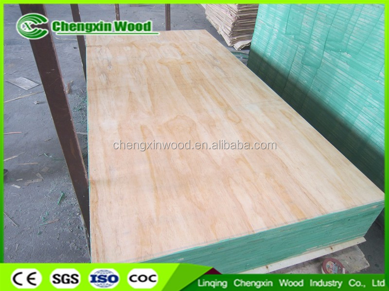 Good quality low price 12mm combi core furniture grade plywood