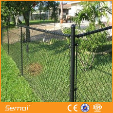 high quality low price galvanized chain link fence panel(factory ISO CE)