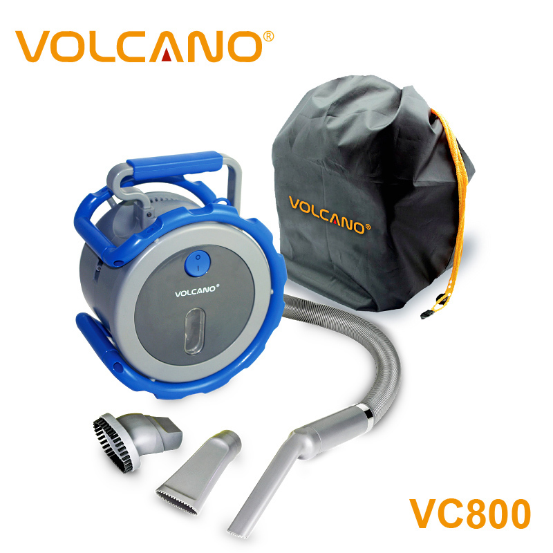 Dry and wet car vacuum cleaner volcano vacuum cleaner with portable carry bag