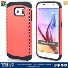For samsung galaxy s6 Combination protective case new armor case