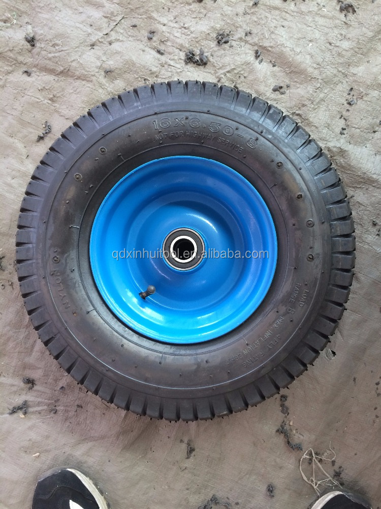 Big size wheel barrow wheel 16inch