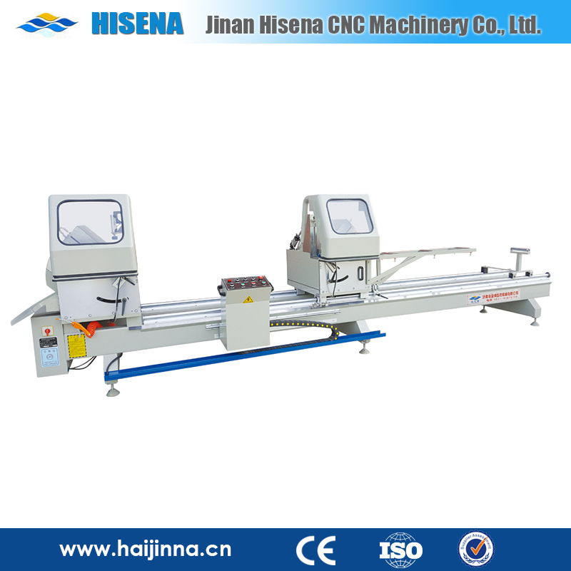 Used for window manufacturing LJB6A Aluminium Door- Window Double Head Cutting Machine