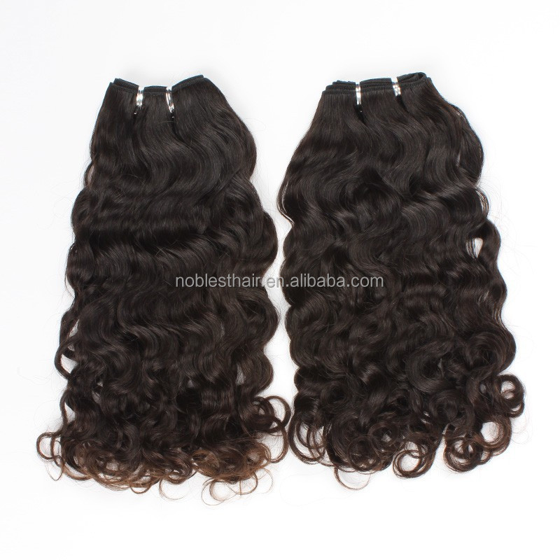 Virgin remy Brazilian hair extensions natural pure color,10~22'' Peruvian curly wholesale price