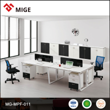 Creative office furniture workstation temporary office walls for 4 person