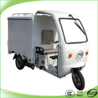 hot selling closed electric tricycle for express and delivery