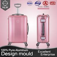 China alibaba aluminum makeup trolley luggage case