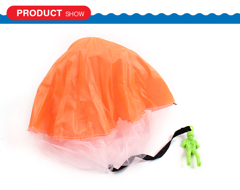 Kids loved portable sport set chutist game gliding toy parachute with competitive price