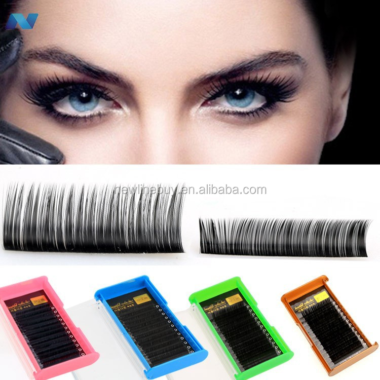 Fashion Women's Makeup Beauty Tools Long Thick Curly False Eyelashes Eye Lashes Extension