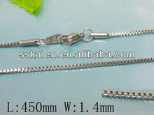 Stainless Steel Small Simple Neck Chain To Make Jewelry