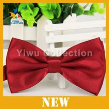 Fashion Pink Silk Ribbon Hair Bows Ties with Clip for Kids,Little Girls Hair