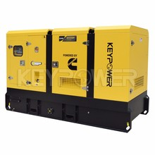 AC 3 Phase Water cooled sound proof generator 125 kva generator diesel