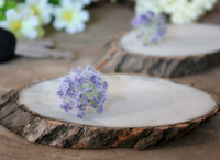 Natural wood crafts thin wooden pieces Christmas decoration Buy Wood Slices