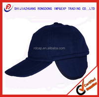 polar fleece winter hat with ear cover