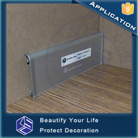 Protective profile flexible skirting outdoor vinyl floor aluminum skirting board