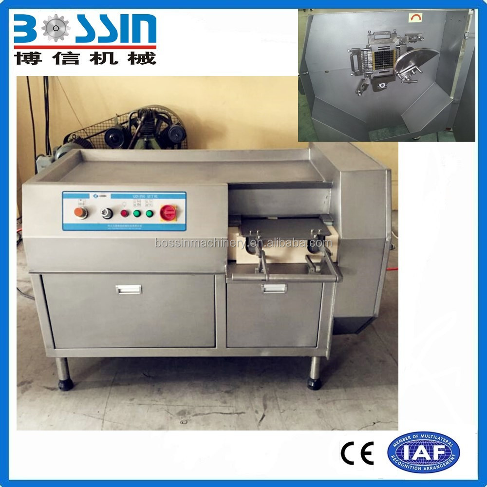 2016 Fresh/frozen beef/chicken meat cube cutting dicer machine