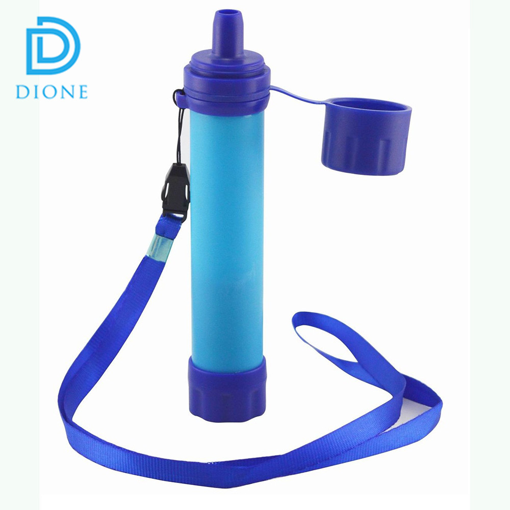Fashion trends outdoor survival tools personal water filter for outdoor hiking Survival Emergency