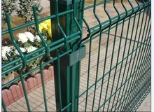 Plastic coated wire mesh panel,hog wire fence panels