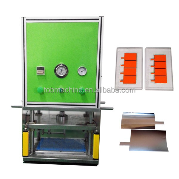 Semi-automatic Die Punching Cutter Machine For Pouch Cell Battery Electrode