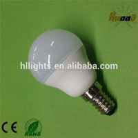 Zhejiang factory good price plastic body aluminum inside smd led bulb E14 base 5 watt led bulb 220 volt led lights