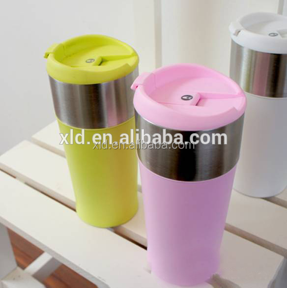 BPA FREE Foldable Water bottle with carabiner Collapsible Water Bottle acrylic bottle cap