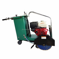 Gasoline and diesel engine concrete and asphalt road maintenance cutting saw machine on sale