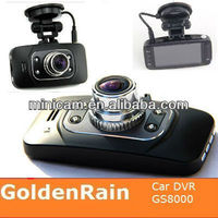 GS8000 CAR DVR with Ambarella solution with GPS G-SENSOR and best night vision