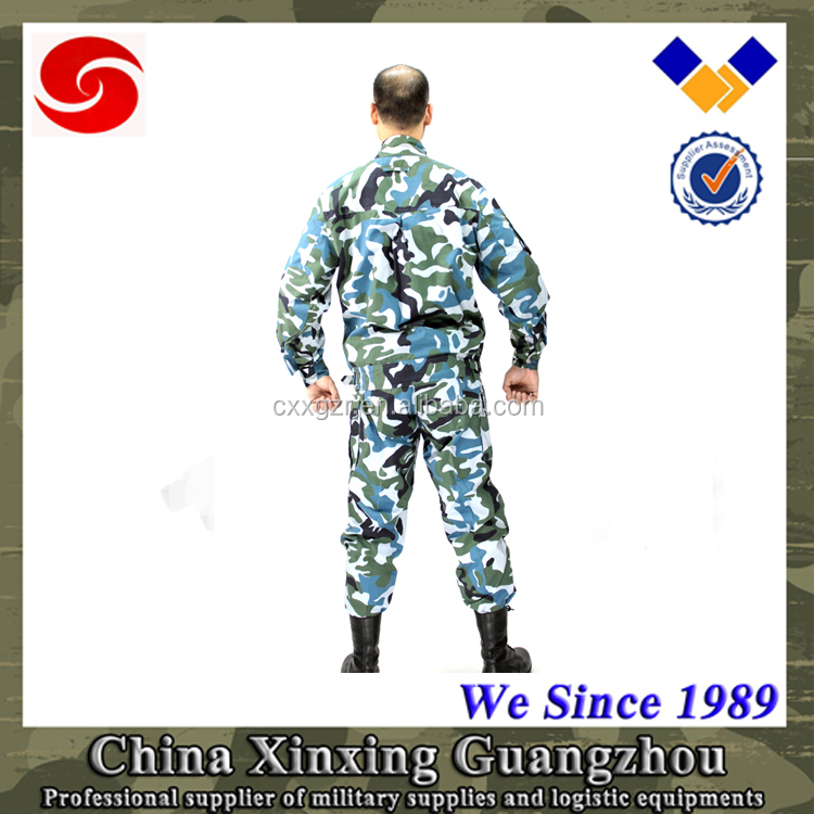 Military uniform army uniform military uniform digital camouflage fabrics with navy blue camouflage