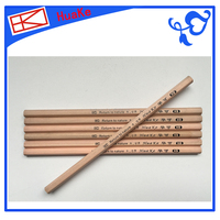 Huake HB round wooden pencil Inferior smooth pencil with LOGO