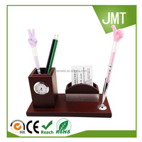 Buy Wholesale 100% eco-friendly bamboo wooden pen stand in China ...