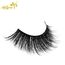 Natural Looking 3D Silk Korea Synthetic False Eyelashes