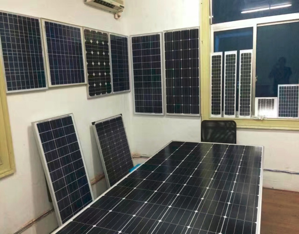 20W 30W 40W 50W small solar panel for solar home system and steet lighing good price