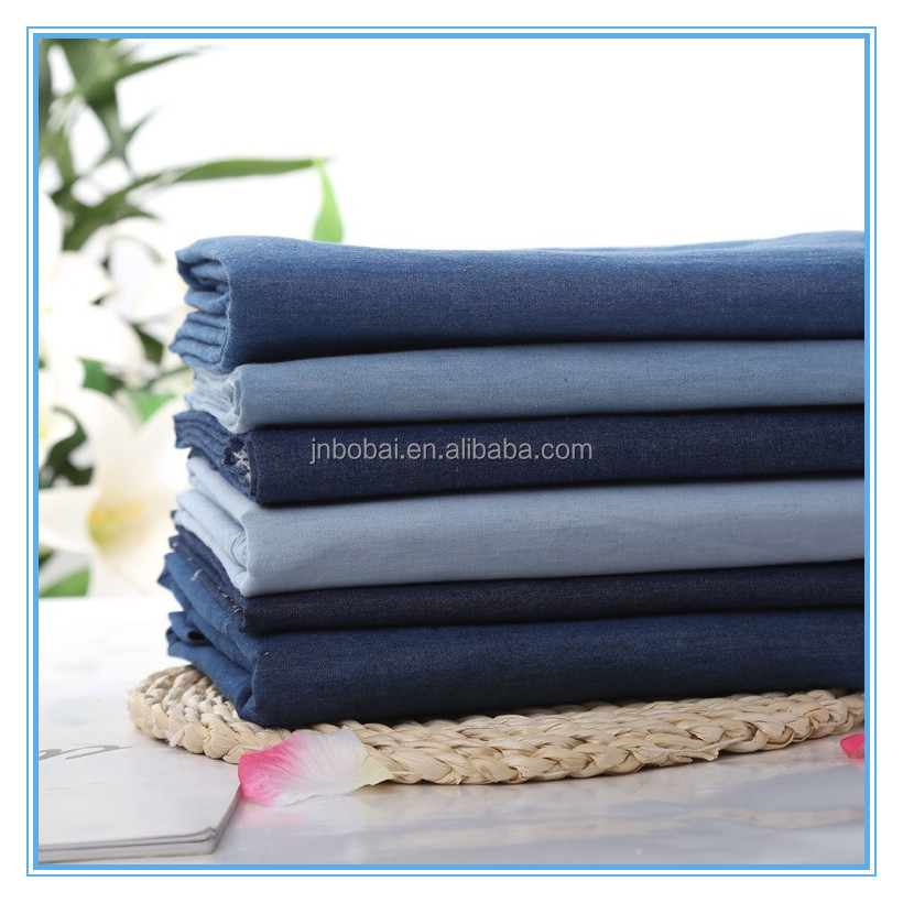 Bobai textile denim fabric swatches
