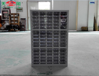 75 Drawers Spare Parts Cabinet With Steel And Plastic Filing A4