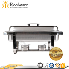 Factory direct buffet chafing dish food warmer for catering ceramic equipment on sale