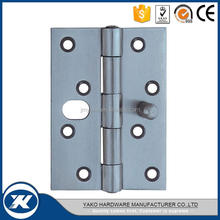 stainless steel plain joint security door hinge