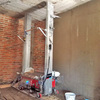 TUPO Automatic Wall Cement Mortar Plastering Machine Without Manual Plastering