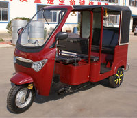 2016 hot Diesel Engine Tricycle for Passenger car style