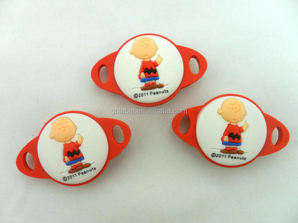 cheap high quality 3D soft PVC charm for sale