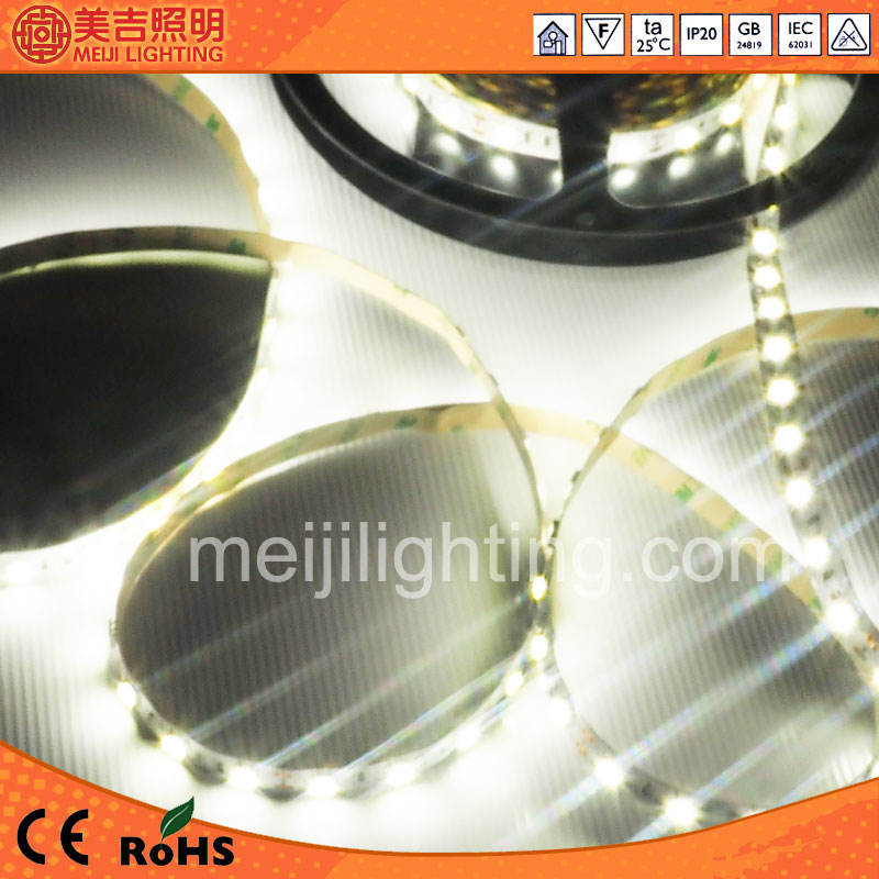 perfect lighting effect 12V SMD 5050 battery powered led strip light waterproof 60leds/m with good quality