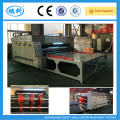 corrugated box flexo printer slotter machine