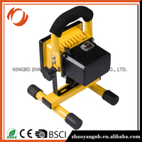 Tempered glasses working light for tractor rechargeable working light led floodlight